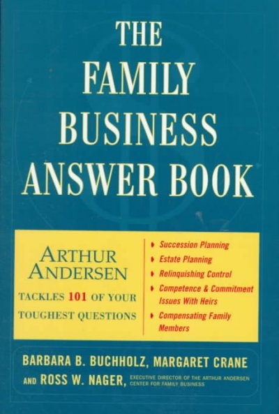 The Family Business Answer Book cover