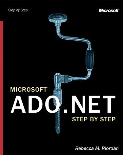Microsoft ADO.NET Step by Step (Step by Step Developer) cover