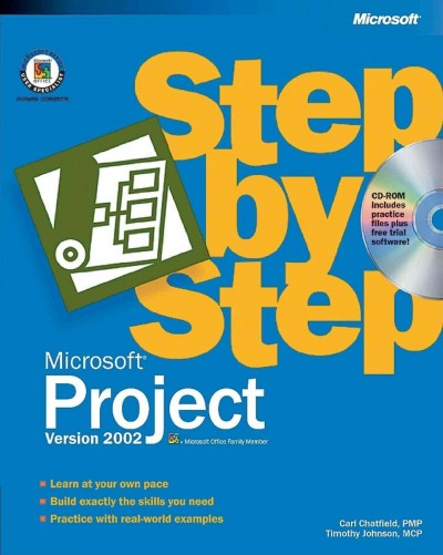 Microsoft Project Version 2002 Step by Step cover