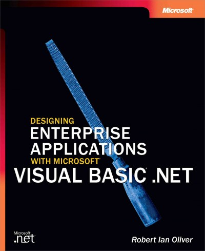 Designing Enterprise Applications with Microsoft  Visual Basic  .NET (Developer Reference) cover