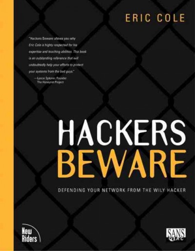 Hackers Beware: The Ultimate Guide to Network Security cover