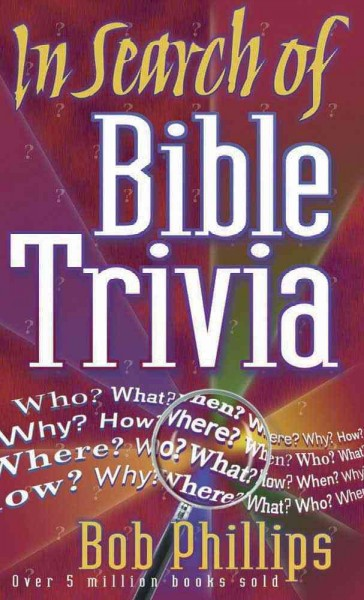 In Search of Bible Trivia cover