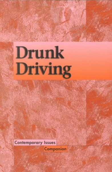 Contemporary Issues Companion - Drunk Driving cover