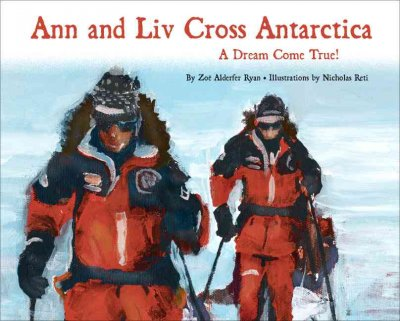 Ann And Liv Cross Antarctica cover