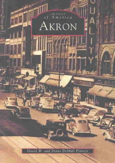 Akron   (OH)  (Images of America) cover