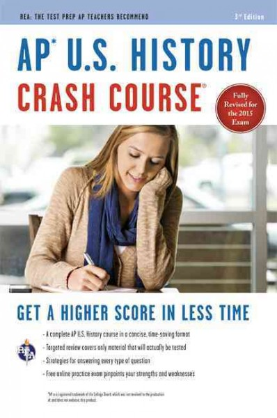 AP® U.S. History Crash Course Book + Online (Advanced Placement (AP) Crash Course) cover