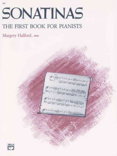 Sonatinas: The First Book for Pianists cover