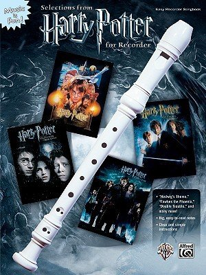 Selections from Harry Potter for Recorder: Book & Recorder (Music Is Fun) cover