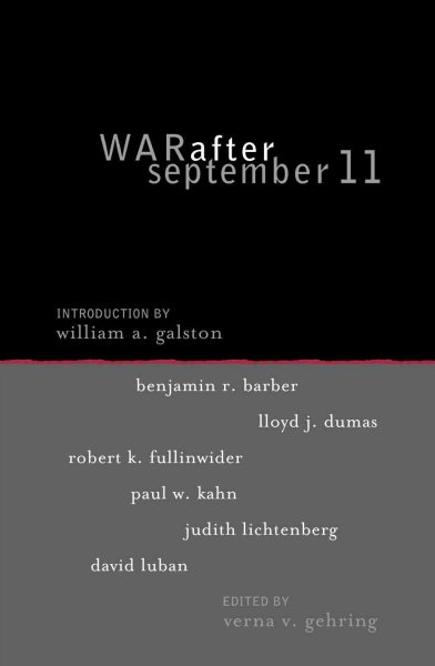 War after September 11 (Institute for Philosophy and Public Policy Studies) cover