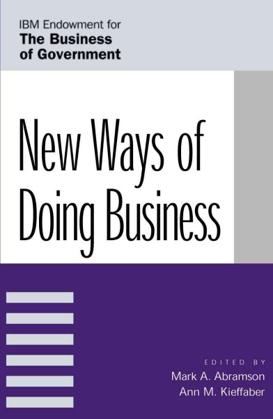 New Ways of Doing Business (IBM Center for the Business of Government) cover