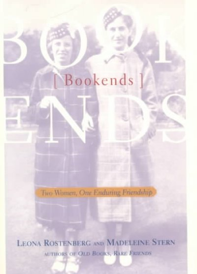 Bookends: Two Women, One Enduring Friendship cover
