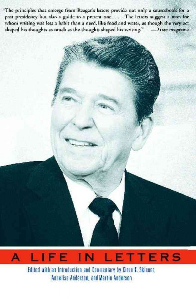 Reagan: A Life In Letters cover