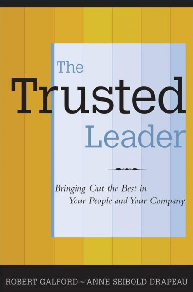The Trusted Leader cover