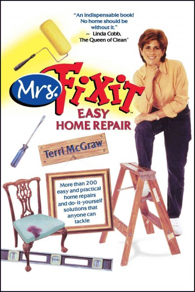 Mrs. Fixit Easy Home Repair cover