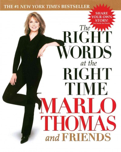 The Right Words at the Right Time cover