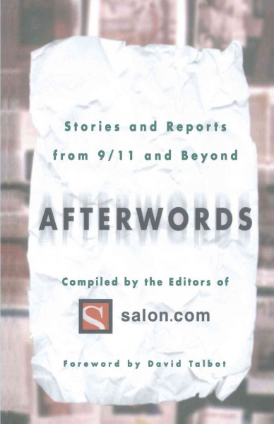 Afterwords: Stories and Reports from 9/11 and Beyond cover