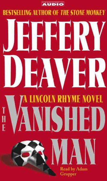 The Vanished Man (A Lincoln Rhyme Novel) cover