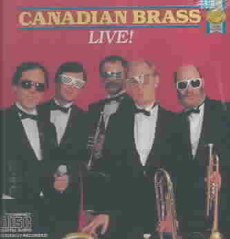 Canadian Brass Live! cover