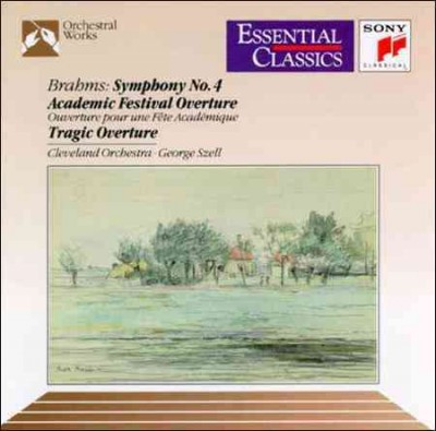 Brahms: Symphony 4 / Academic Festival Overture / Tragic Overture cover