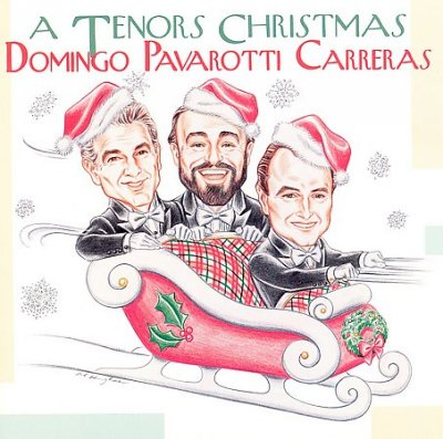 A Tenors' Christmas cover