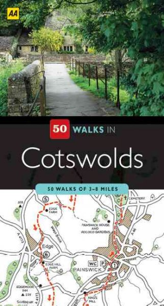 50 Walks in Cotswolds cover