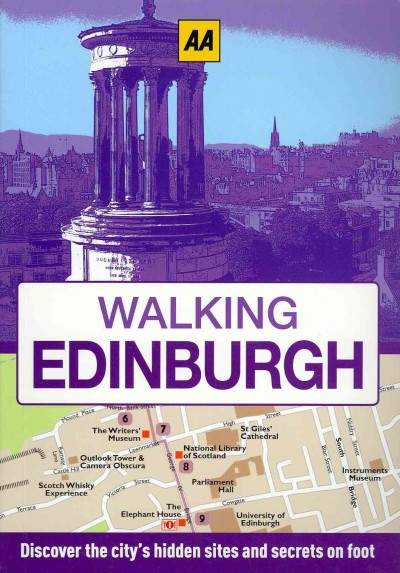 Walking Edinburgh. cover