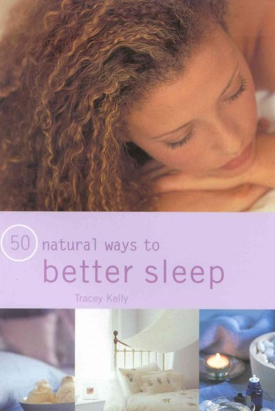 50 Natural Ways to Better Sleep cover