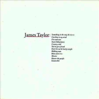 James Taylor: Greatest Hits cover