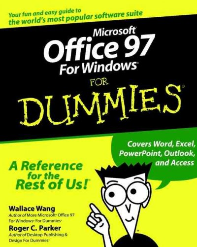 Microsoft Office 97 For Windows For Dummies cover