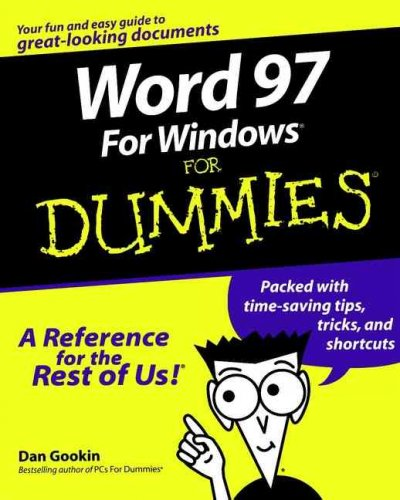 Word 97 for Windows for Dummies cover