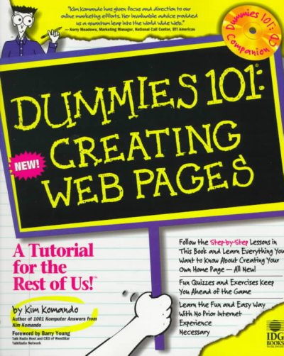 Dummies 101: Creating Web Pages (For Dummies Series) cover