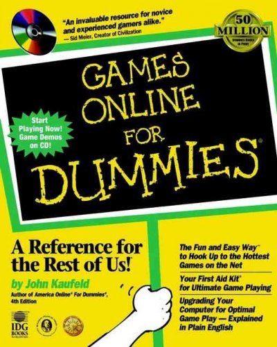 Games Online For Dummies?