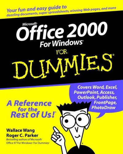 Microsoft Office 2000 For Windows For Dummies cover