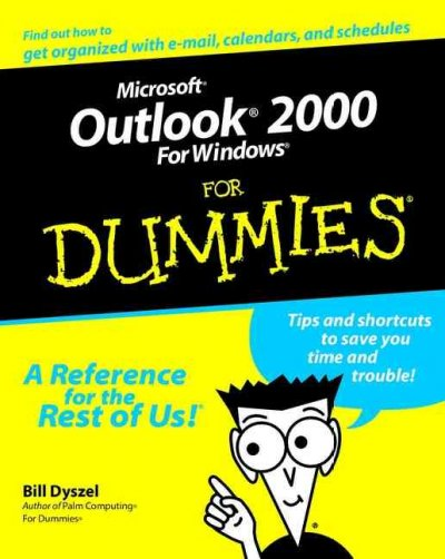 Microsoft Outlook 2000 for Windows For Dummies (For Dummies Series) cover