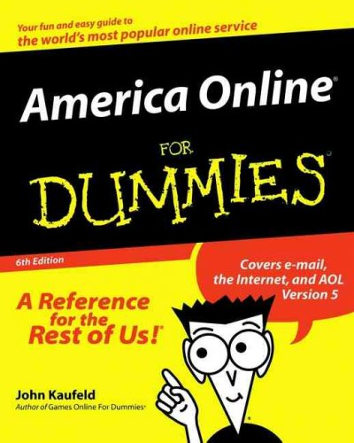 America Online For Dummies (America Online for Dummies, 6th ed) cover