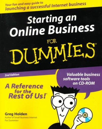Starting an Online Business For Dummies cover