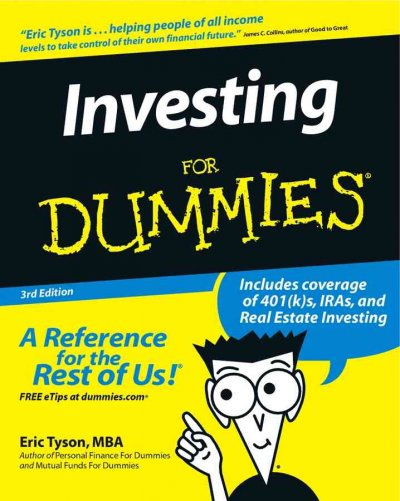 Investing For Dummies cover