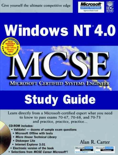 Windows NT? 4.0 MCSE Study Guide (MCSE Certification) cover
