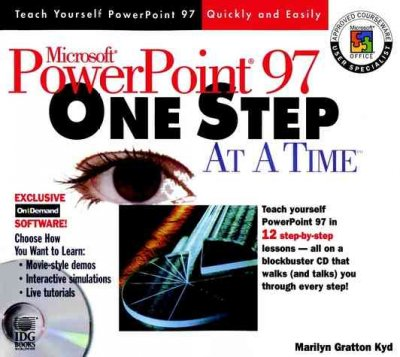 Microsoft? PowerPoint? 97 One Step at a Time cover
