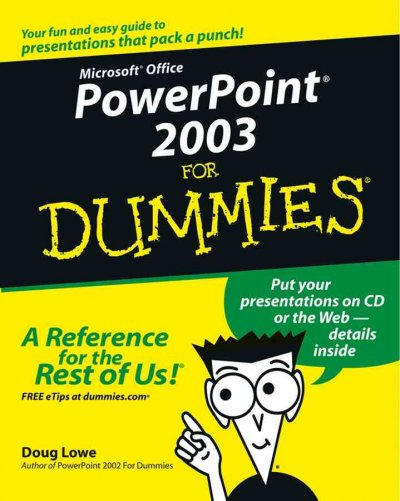 PowerPoint 2003 for Dummies cover