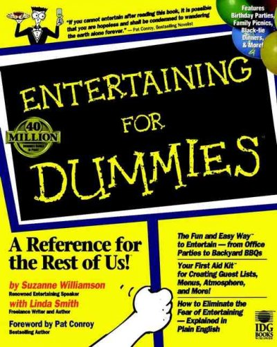 Entertaining For Dummies cover