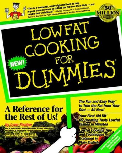 Lowfat Cooking For Dummies cover