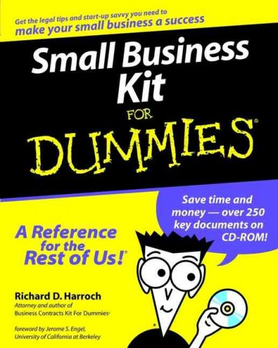 Small Business Kit For Dummies? cover