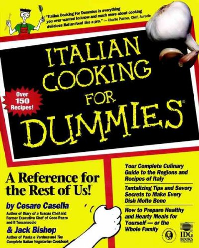Italian Cooking For Dummies cover