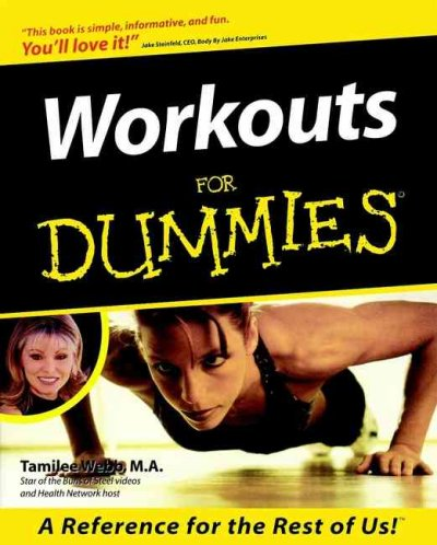 Workouts For Dummies cover