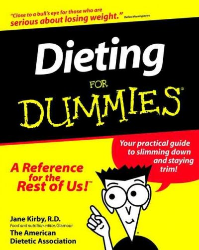 Dieting For Dummies cover