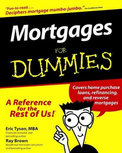 Mortgages For Dummies (For Dummies (Lifestyles Paperback)) cover