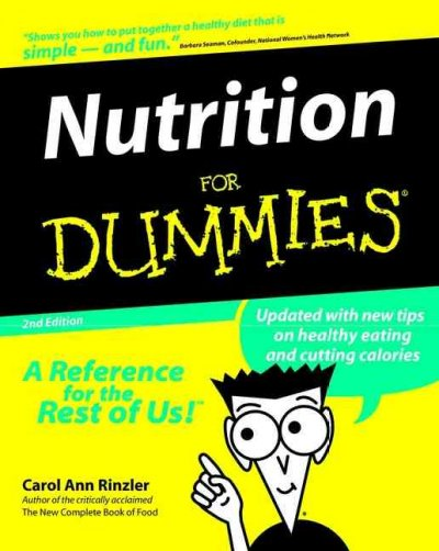 Nutrition For Dummies (For Dummies (Computer/Tech)) cover