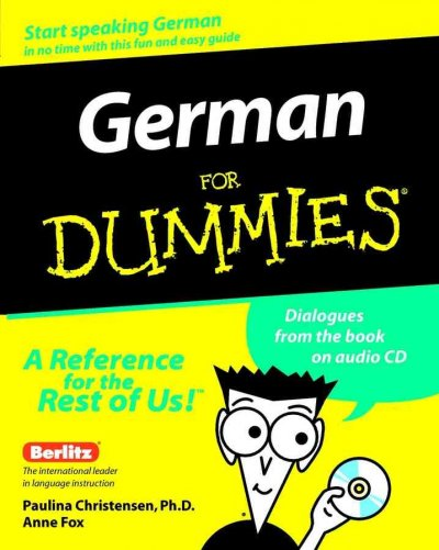 German For Dummies cover