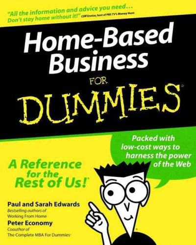 Home-Based Business For Dummies? (For Dummies (Computer/Tech)) cover